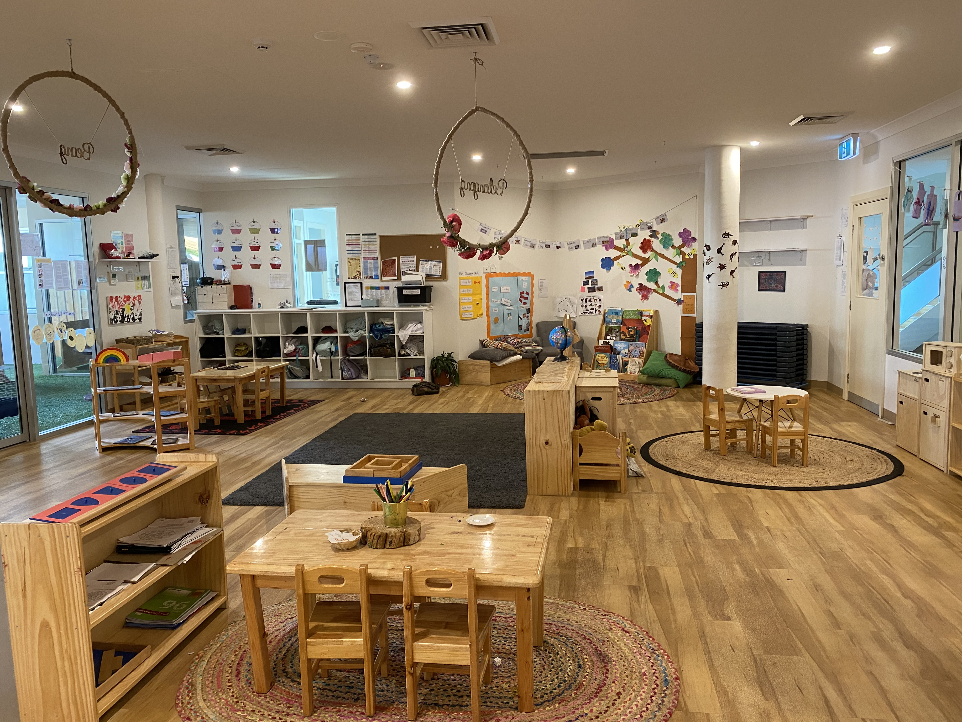 Inside Work & play Area Alexandria Early Learning Centre