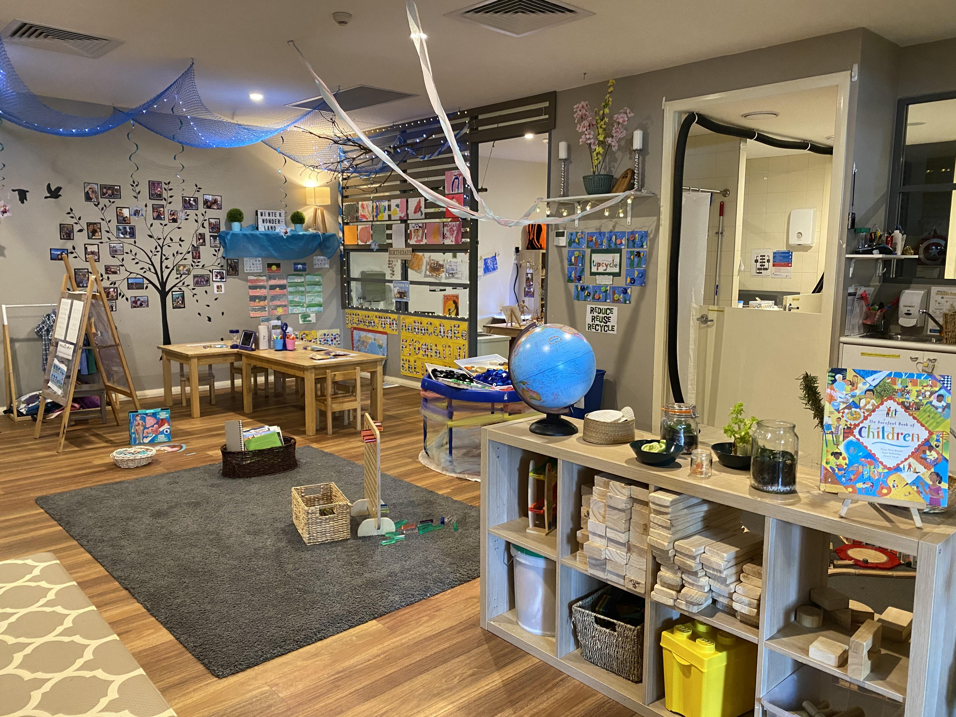 Lewisham Learning Centre Bookshelf and Play Rug