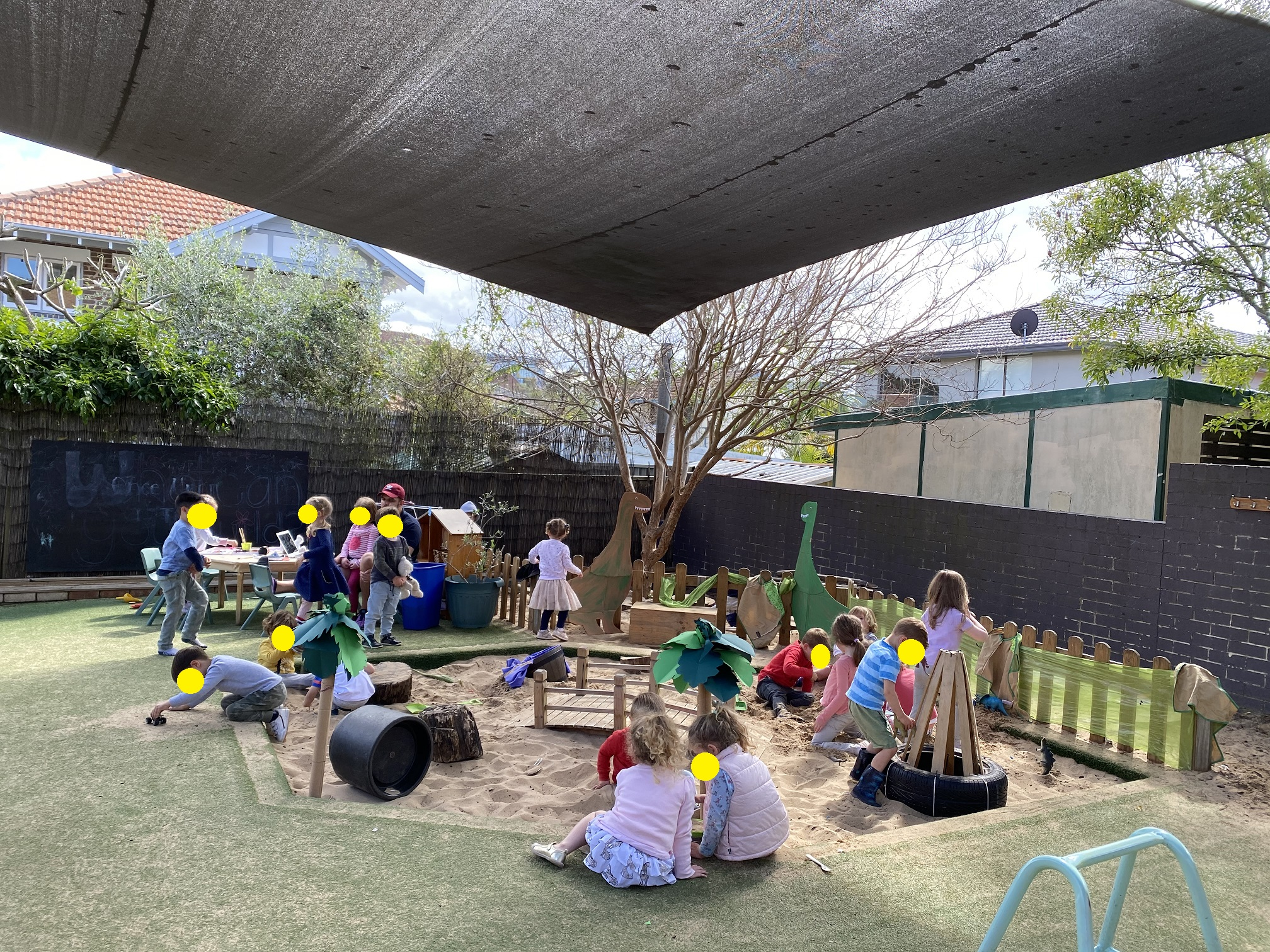 Drummoyne Learning Centre Outdoor play area