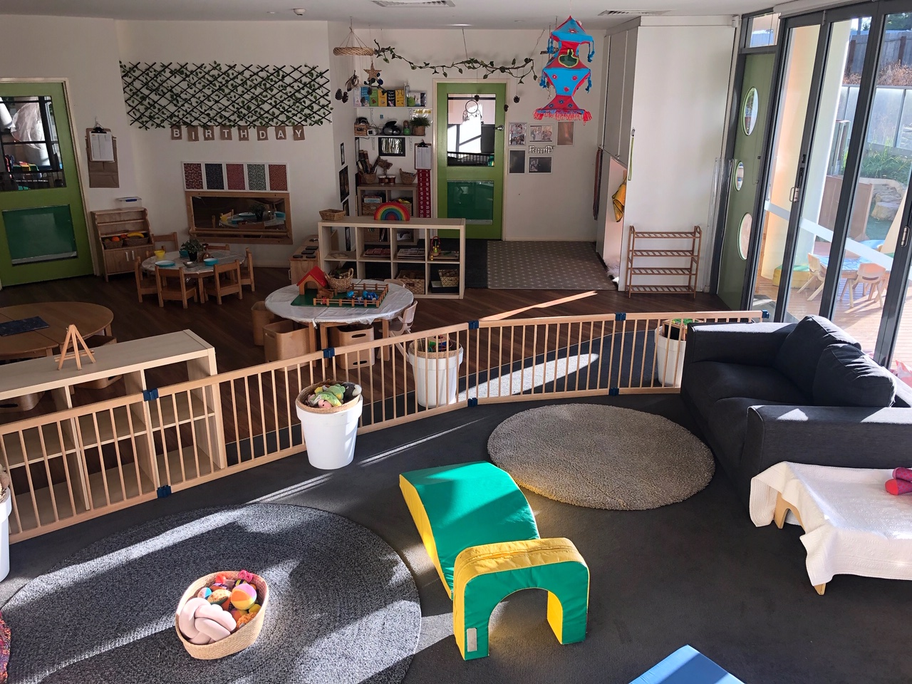 2 Play Areas in Early Learning Centre